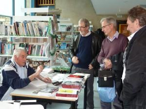 Pierre Lieuze signe son cinquième ouvrage. (Pierre Nouvelle)