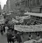 mai 68 manifestation à Lyon