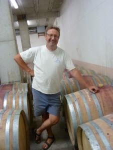 A Charnas (Ardèche), laurent Marthouret est un des huit vignerons de la commune(© Pierre Nouvelle).
