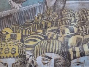 Le surpeuplement des prisons vu par Dusault (© Pierre Nouvelle).