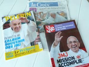 LesJournées mondiales de la jeunes ont été fin juillet le premier rendez-vous international pour le nouveau pape (© Pierre Nouvelle).