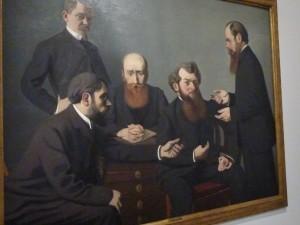 Le groupe des nabis auquel participait Félix Valotton (c Pierre Nouvelle).