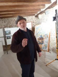 """""""Le Cellier des arts correspondait à une attente, des élus locaux comme des artistes, des artisans et du public"""", souligne Patrick Chetboun (© Pierre Nouvelle)."""