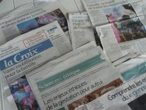 Depuis un an, La Croix a multiplié les articles sur les sujets brûlants de société (© Pierre Nouvelle).