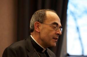 L'archevêque de Lyon rappelle qu'il était déjà dans les rues de sa ville le 13 janvier 2013 au côté du président du conseil régional du culte musulman de Rhône-Alpes (© DR).