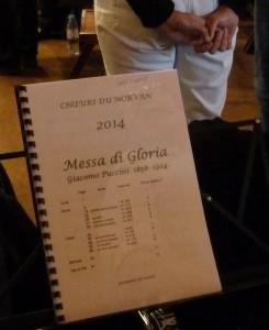 Pour réussir un examen qui ouvrira sa carrière, Giacomo Puccini composa cette messe qui réunit des traits marquants de la tradition musicale (© Pierre Nouvelle);