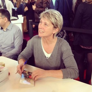 Comme au récendu livre de Paris, Sandrine Collette viendra à Autun pour parler de romans policiers (© DR)