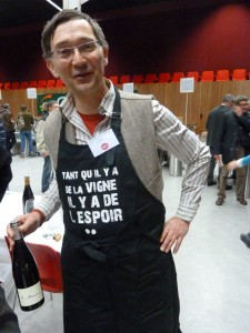 La vigne, c'est le vin mais aussi le raisin de table (© Pierre Nouvelle).