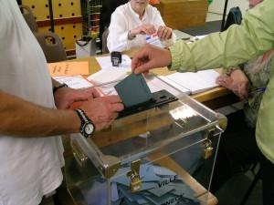 A Perpignan, les idées de la droite extrême ont séduit près de la moitié des votants (© Pierre Nouvelle).