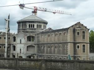 Aux prisons lyonnaises Saint Paul et Saint Joseph a succédé l'établissement pénitentiaire de Corbas (© Pierre Nouvelle).