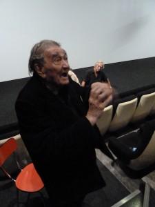 Théâtre, poésie, littérature, cinéma : depuis plus de 70 ans, le fils d'immigré italien Gatti résiste (© Pierre Nouvelle).