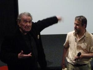 A Autun, au cinéma Arletty, Armand Gatti a célébré le maquis des mots (© Pierre Nouvelle).