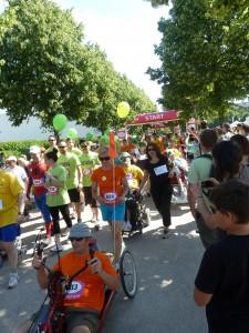 50 associations, 500 participants : la 3e Course des héros à Lyon a été une réussite (© Pierre Nouvelle).
