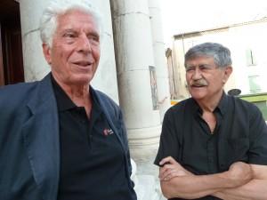 Hervé Chiflet, directeur technique, et Henry Fuoc, président d'honneur et fondateur, deux passionnés de Mozart (© Pierre Nouvelle).