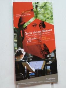 Hors des sentiers battus, le festival Saoû chante Mozart revisite chaque année une des facettes du génial compositeur viennois (© Pierre Nouvelle).