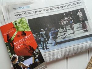 De Saoû à Aix, la Provence célébre chaque année Mozart (© Pierre Nouvelle).