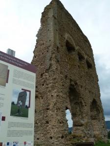 Du temple de Janus à l'amphithéâtre, les vestiges romains sont visibles toute l'année à Autun (© Pierre Nouvelle).