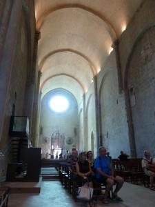 Styles paléo-chrétien, roman et gothique se succèdent du sous-sol au sommet de l'ancienne cathédrale (© Pierre Nouvelle).