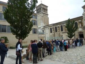 La cathédrale de Valence (Drôme) affichait complet pour le concert final du festival (© Pierre Nouvelle).