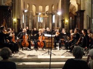 La Messe en ut mineur de Mozart a clôturé en beauté le festival (© Pierre Nouvelle).
