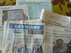 Faire la part entre approche géopolitique, appartenance communautaire, et religion et vivre-ensemble n'est pas toujours évidents.  Les réactions de juillet en région parisienne en ont apporté la preuve (© Pierre Nouvelle).