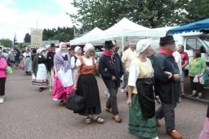 Folklore, culture, gastronomie et histoire au cœur d'une fête de pays (© Pierre Nouvelle).