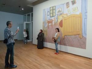 Sur trois étages, plus de cinquante œuvres majeures sont présentées (© Pierre Nouvelle).