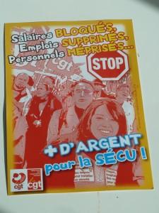 C'est à François Hollande, dont la CGT a soutenu la candidature, que la centrale syndicale s'adresse directement (© Pierre Nouvelle).