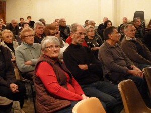 Des habitants de près de 25 communes du Rhône, et de la Loire étaient présents pour cette assemblée générale importante (© Pierre Nouvelle)
