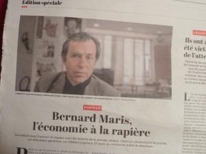 Bernard : un confrère, un camarade, un ami : un type bien (© Pierre Nouvelle).