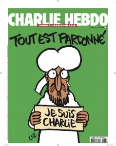 Acheter, s'abonner, diffuser Charlie Hebdo, c'est faire voivre la liberté de la presse et la liberté d'expression ( © Pierre Nouvelle, grâce à Libé).