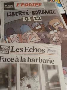 Face aux barbares, la force du droit En Morvan, sous l'occupation allemande, on a bien mesuré la nécessité d'une presse libre (© Pierre Nouvelle).