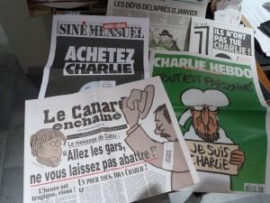 La satire de presse et la caricature sont une vieille tradition française. Partie intégrante de la presse, elles sont aussi un espace de liberté supplémentaire pour notre société (© Pierre Nouvelle).
