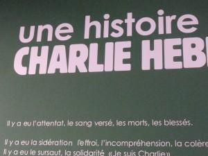 L'histoire continue, Pour Charlie comme pour les auteurs de BD. Rendez-vous en janvier 2016(© Pierre Nouvelle).