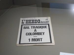En novembre 1970, après l'incendie du 5-7 dans l'Isère, et la mort du général De Gaulle à Colombey, Hara-Kiri fut interdit. Un crime de lèse-majesté ? (© Pierre Nouvelle)