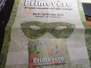 Le 29e salon Primevère tient ce dimanche 22 février 2015  (© Pierre Nouvelle).
