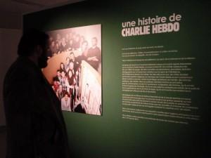 La Cité de la BD qui comptait tant d'amis à Charlie Hebdo se devait d'assurer ce rendez-vous (© Pierre Nouvelle).