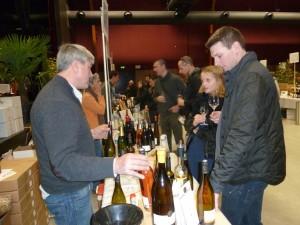 Les amateurs de vins et de produits bio étaient au rendez-vous de cette 2e édition rhonalpine de Condrieu (© Pierre Nouvelle).