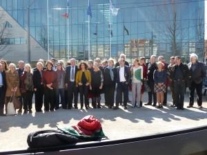 Les élus Europe écologie les Verts élus au conseil régional rhonalpin jusqu'en décembre 2015 (© Pierre Nouvelle).