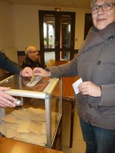 29 mars : 2e tour des départementales,voter est un devoir citoyen (© Pierre Nouvelle).