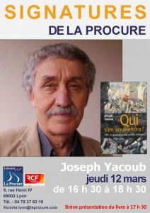 Joseph Yacoub, professeur d'universié, est héritier de l'histoire dont il rappelle la mémoire (© DR).