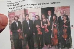 Cet ensemble de cordes composé d'amateurs et de professionnels accompagnera les Chœurs du Morvan (© Pierre Nouvelle).