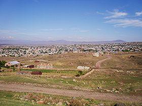 Artik, cité arméinienne jumelée avec la Rhodanienne Vaulx-en-Velin (© DR).