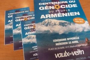 Le mois d'avril 2015 entièrement dédié aux Arméniens et à la commémoration du génocide  (© Pierre Nouvelle).