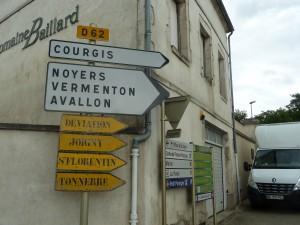 Situé tout au nord de la Bourgogne, Chablis est un vérritable carrefour économique et culturel (© Pierre Nouvelle).