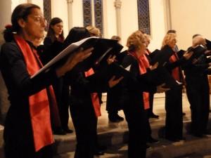 Des chants de Noël à des oeuvres romantiques : un même courant d'amitié et de beauté chorale (© Pierre Nouvelle).