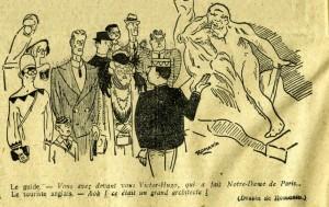 Un dessin de Jean Moulin publié par le journal Gringoire ((© DR)