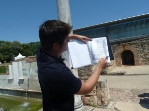 Le sport, le soin du corps et la pratique des bains étaient une préoccupation des Romains aisés qui connaissaient déjà le chauffage central (© Pierre Nouvelle).