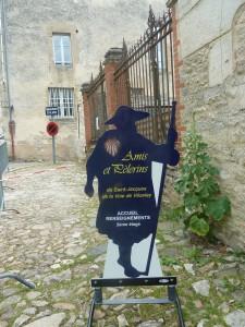 D'ici, on est parti pour la 2e croisade, mais on a aussi choisi depuis près d'un millénaire de prendre la route de St Jacques de Compostelle (© Pierre Nouvelle).