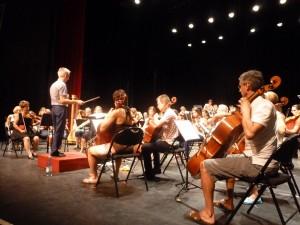 Trois pièces symphoniques sur un fonds d'Amérique du Nord (© Pierre Nouvelle).